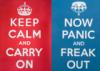 Keep Calm & Panic