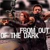avengers: natasha and hawkeye