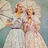 vintage dresses parasols
