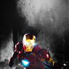 avengers - tony flying