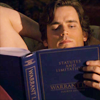 a rearranger of the proverbial bookshelf: White Collar - Neal reading