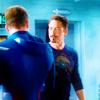 Campaspe: Avengers \\ Steve/Tony; catfight