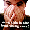 Fifi: Darren => OMG Best Thing Ever
