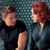 avengers clint/natasha side by side