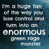Avengers: Green Rage Monster
