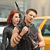 Clint/Natasha battle