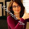 Aly: 30 rock: liz thumbs up text