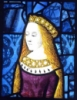 stained glass, princess cicily