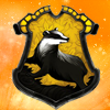 an idea is bulletproof: Harry Potter - Hufflepuff crest