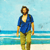 T / lost / desmond blue shirt