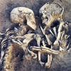embracing skeletons