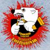 Логотип Трактора медведь с брызгами