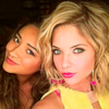 pll - hanna & emily ; cuter than you
