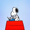 Stevia Flunt: Snoopy Typewriter