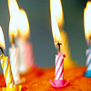 Birthday: Cake with Candles
