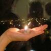 свет на руке
