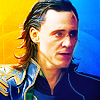 The Other Crazy French Chick: AVENGERS loki's face