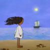 sea, girl, lullaby