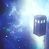 TARDIS in SPACE by kirasdesings