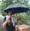 Человек с дождем