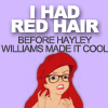 madison_face09: Ariel Hipster Hayley Williams