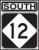 Hwy 12 sign