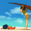 [Conan il ragazzo del futuro] Spiaggia