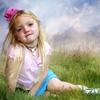 девочка в розовом