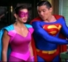 Superman and Ultra Woman