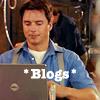 Laura: Jack *blogs*