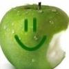 зел.яблоко со смайлом