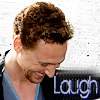 Ith: Hiddles - Laugh