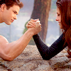 Twilight BD2 arm wrestle