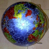 country, globe, puzzle
