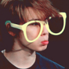 lovehyuk_suju: Hae pout glasses