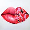 lips, heart
