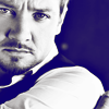 inkvoices: avengers:jeremy renner b&w