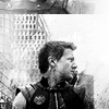 Lenre Li: The Avengers - Hawkeye monochrome