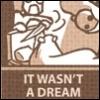 writing: not a dream!
