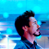 [marvel] tony stark blue