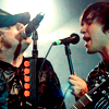 singing to each other, pete/patrick