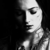 asoiaf, black and white, Sansa Stark