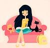 myfriendamy: girl reading