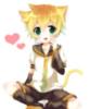 Len Kagamine Kitty