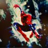 Spidey: spiderman center crop colors