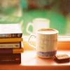 books and mugs