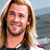 Avengers - Thor smiling
