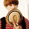 Sehun cute hat