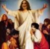 Святой Оззи в окружении апостолов рока