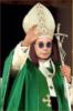 Святой Оззи в папском облачении